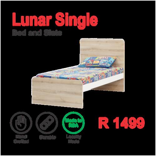 Lunar Single bed base